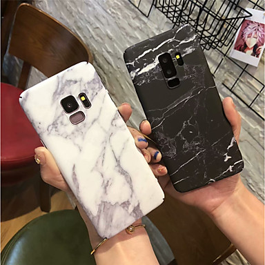 رخيصةأون إكسسوارات سامسونج-غطاء من أجل Samsung Galaxy S9 / S9 Plus / S8 Plus مثلج غطاء خلفي حجر كريم قاسي الكمبيوتر الشخصي