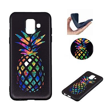 غطاء من أجل Samsung Galaxy A6 (2018) / A6+ (2018) / Galaxy A7(2018) نموذج غطاء خلفي فاكهة ناعم TPU