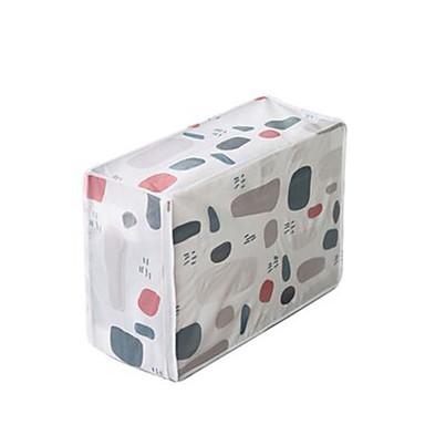 PVC مستطيل نمط هندسي / بديع الصفحة الرئيسية منظمة, 1PC حقائب التخزين / أدراج
