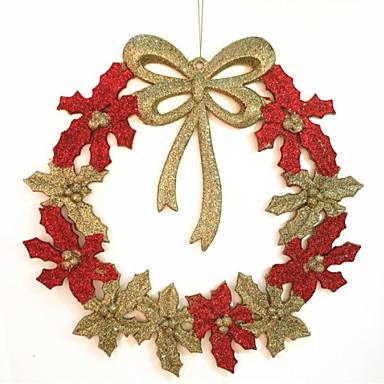 عيد الميلاد الحلي عطلة PVC دائري حداثة زينة عيد الميلاد