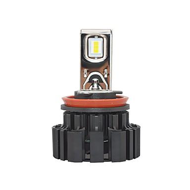 Factory OEM 2pcs H9 / H11 / H8 سيارة لمبات الضوء 50 W SMD LED 6800 lm 2 LED مصباح الرأس من أجل فولفو / فولكسواجن جميع الموديلات كل السنوات