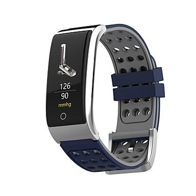 JSBP E08 نسائي سوار الذكية Android iOS بلوتوث رياضات ضد الماء رصد معدل ضربات القلب أصفر فاتح شاشة لمس ECG + PPG عداد الخطى تذكرة بالاتصال متتبع النشاط متتبع النوم / ساعة منبهة / حساس نسبة القلب