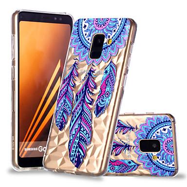 غطاء من أجل Samsung Galaxy A6 (2018) / A6+ (2018) / A8 2018 نموذج غطاء خلفي ملاحق الأحلام ناعم TPU