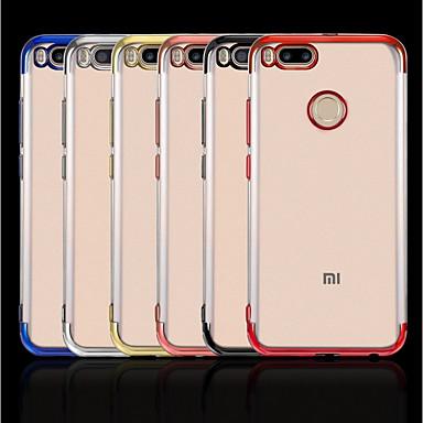 Недорогие Чехлы и кейсы для Xiaomi-Кейс для Назначение Xiaomi Xiaomi Redmi Note 5 Pro / Xiaomi Redmi Note 4X / Xiaomi Redmi Note 4 Покрытие / Прозрачный Кейс на заднюю панель Однотонный Мягкий ТПУ / Xiaomi Mi 6