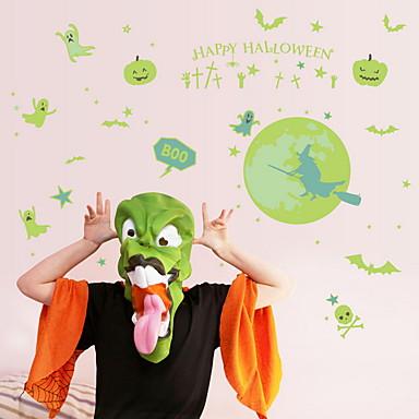لواصق حائط مزخرفة - لواصق حائط الطائرة / لواصق Halloween داخلي