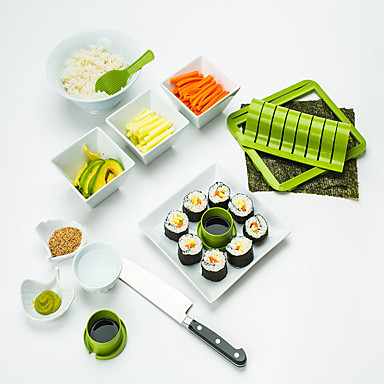1PC ادوات المطبخ PP(بولي بروبلين) أدوات / المطبخ الإبداعية أداة DIY أدوات لأواني الطبخ / كرات الأرز / سوشي