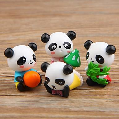 4PCS بلاستيك الحديث المعاصر / أسلوب بسيط إلى الديكورات المنزلية, هدايا / ديكورات المنزل الهدايا