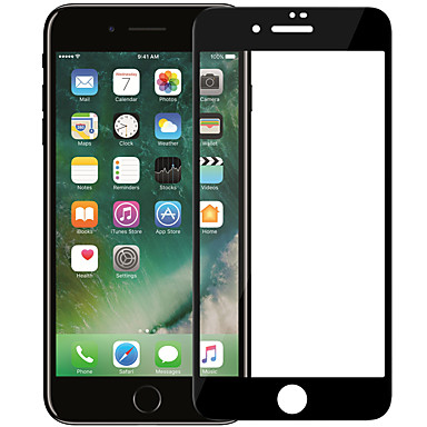 voordelige iPhone 7 screenprotectors-nillkin screen protector voor apple iphone 7 gehard glas 1 st full body screen protector hoge definitie (hd) / 9h hardheid / explosiebestendig