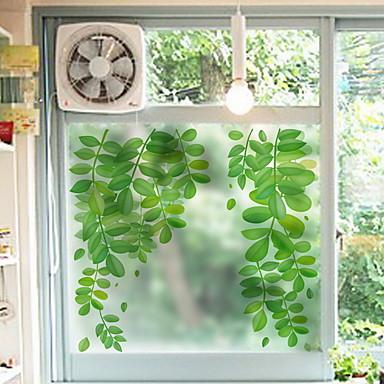 فيلم نافذة وملصقات زخرفة العادي طباعة PVC ملصق النافذة