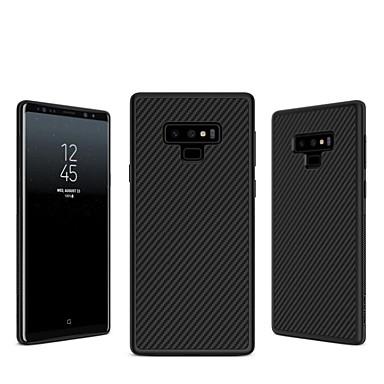 voordelige Galaxy Note-serie hoesjes / covers-Nillkin hoesje Voor Samsung Galaxy Note 9 / Note 8 Reliëfopdruk Achterkant Lijnen / golven Hard Hiilikuitu voor Note 9 / Note 8