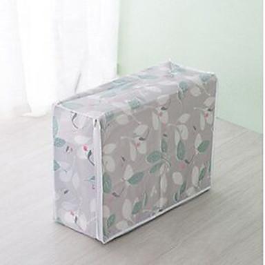 رخيصةأون خزانة غرفة النوم و المعيشة-PVC مستطيل نمط هندسي / بديع الصفحة الرئيسية منظمة, 1PC حقائب التخزين / أدراج