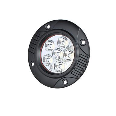 hesapli Araba Sis Lambaları-Lights Maker 1 Parça Araba Ampul 18 W SMD 3030 6 LED Sis Işıkları Uyumluluk Uniwersalny Tüm Yıllar