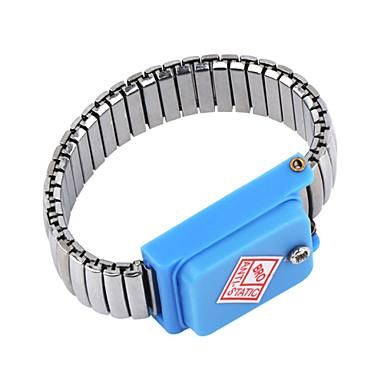 معصمه حزام esd التفريغ المعصم الفرقة ثابتة من الفولاذ المقاوم للصدأ المعادن أدوات العمل كهربائي ic plcc