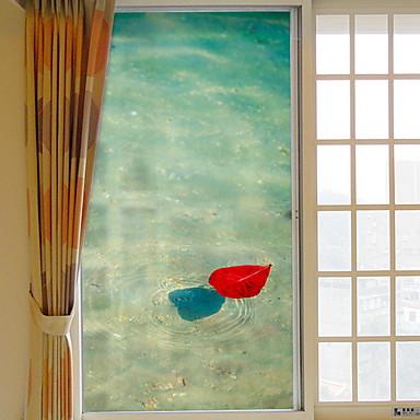 فيلم نافذة وملصقات زخرفة معاصر بسيط PVC ملصق النافذة