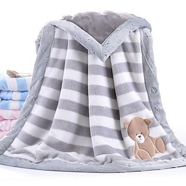 povoljno Modni dodaci za djecu-Beba Uniseks Jednobojni Deka Plava / Blushing Pink / Sive boje One-Size