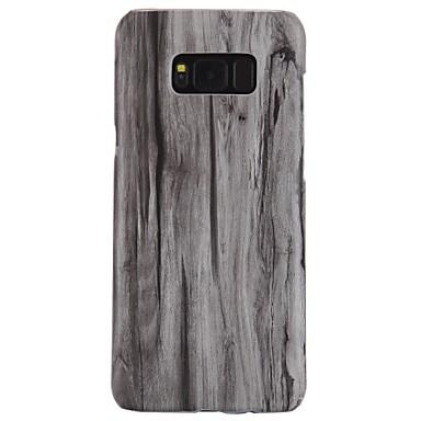 povoljno Maske/futrole za Galaxy S seriju-Θήκη Za Samsung Galaxy S8 Plus / S8 / S7 edge Ultra tanko Stražnja maska Uzorak drva Tvrdo PC