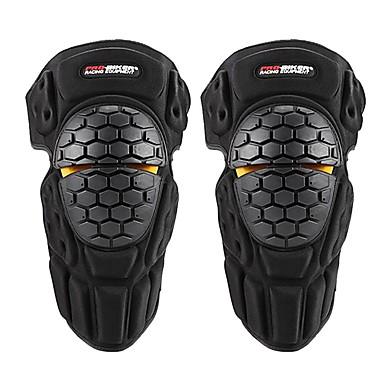 Недорогие Средства индивидуальной защиты-про-байкер мотокросс колено защитная скоба защита локоть колодка kneepad мотоцикл спортивная велосипедная защита защитное снаряжение