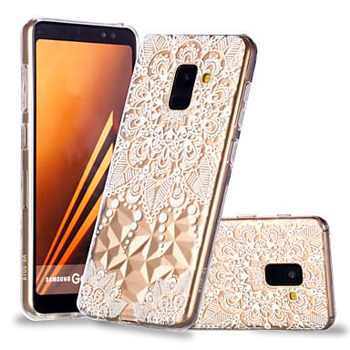 Недорогие Чехлы и кейсы для Galaxy А-Кейс для Назначение SSamsung Galaxy A6 (2018) / A6+ (2018) / A8 2018 С узором Кейс на заднюю панель Мандала Мягкий ТПУ