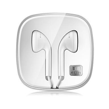 MEIZU EP21 سماعة أذن سلكية كابل الهاتف المحمول مع ميكريفون مع التحكم في مستوى الصوت