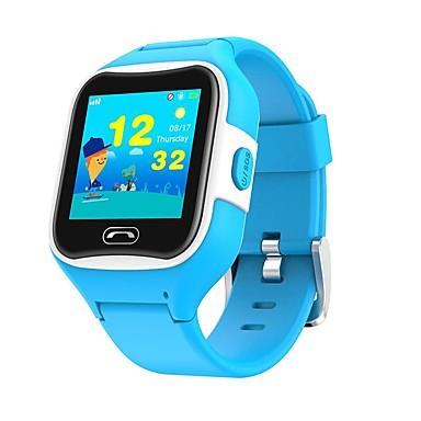 رخيصةأون ساعات ذكية-SMA M2 أطفال الساعات الاطفال Android iOS بلوتوث GPS رياضات شاشة لمس إسبات الطويل مكالمات بدون يد تذكرة بالاتصال متتبع النشاط أجد هاتفي / GSM(850/900/1800/1900MHz) / حساس الجاذبية / حساس الضوء