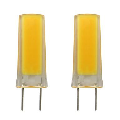 3w g8 لمبة led سيليكون smd 0930 قطعة خبز للمطبخ ضوء الإنارة المنزلية ac 110v 120v الدافئة / الباردة الأبيض (2 pcs)