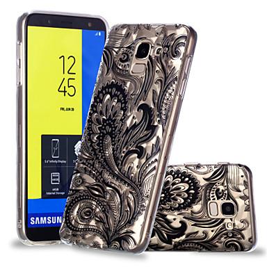 غطاء من أجل Samsung Galaxy J7 (2017) / J6 / J5 (2017) نموذج غطاء خلفي الطباعة الدانتيل ناعم TPU
