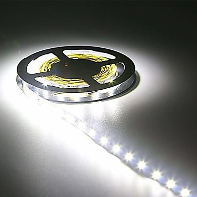 رخيصةأون شرائط ضوء مرنة LED-hkv® ip20 300led 5 متر smd 3528 8 ملليمتر بقيادة قطاع مرنة ديود الشريط 12 فولت بقيادة الشريط ledstrip للمنزل مرنة أدى ضوء شرائط