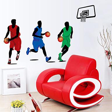 لواصق حائط مزخرفة - الناس ملصقات الحائط مناظر طبيعية غرفة الجلوس / غرفة النوم / دورة المياه