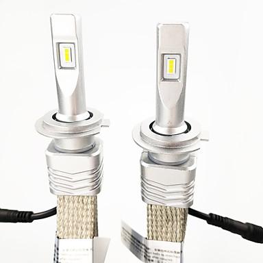 Недорогие Автомобильные фары-2шт лампы накаливания для автомобильных фар 9006 (hb4), 9005 (hb3), h11, h7, h9, h10, h845w 6000lm комплект для переоборудования водостойких фар с набором фар zes чип 6000k белого цвета