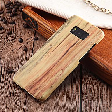 رخيصةأون حافظات / جرابات هواتف جالكسي S-غطاء من أجل Samsung Galaxy S8 Plus / S8 / S7 edge نحيف جداً غطاء خلفي خشب قاسي الكمبيوتر الشخصي