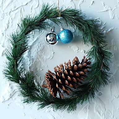 عيد الميلاد الحلي عطلة بلاستيك دائري حداثة زينة عيد الميلاد