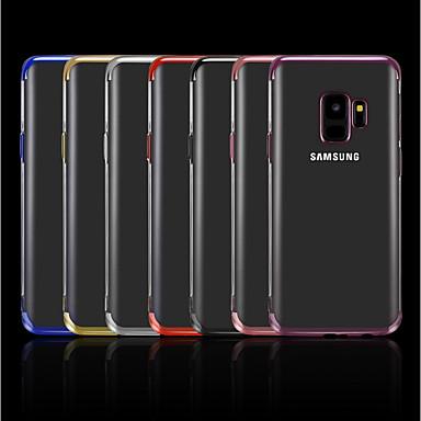 Etui Käyttötarkoitus Samsung Galaxy A5(2018) / A6 (2018) / A6+ (2018) Pinnoitus / Läpinäkyvä Takakuori Yhtenäinen Pehmeä TPU