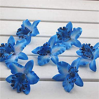 زهور اصطناعية 14 فرع كلاسيكي فردي أنيق النمط الرعوي ماغنوليا أزهار الطاولة