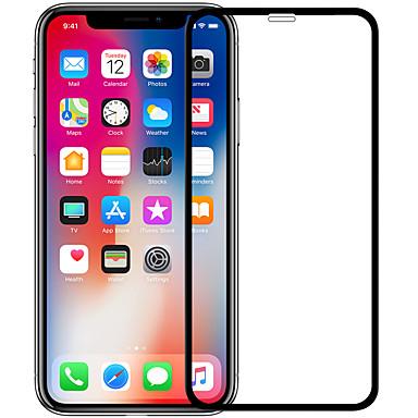 voordelige iPhone screenprotectors-nillkin screen protector voor apple iphone x gehard glas 1 stuk full body screen protector high definition (hd) / 9h hardheid / explosiebestendig
