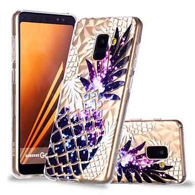 voordelige Galaxy A-serie hoesjes / covers-hoesje Voor Samsung Galaxy A6 (2018) / A6+ (2018) / A8 2018 Patroon Achterkant Fruit Zacht TPU