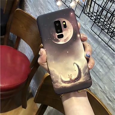 povoljno Maske/futrole za Galaxy S seriju-Θήκη Za Samsung Galaxy S9 / S9 Plus / S8 Plus Mutno Stražnja maska Krajolik Tvrdo PC