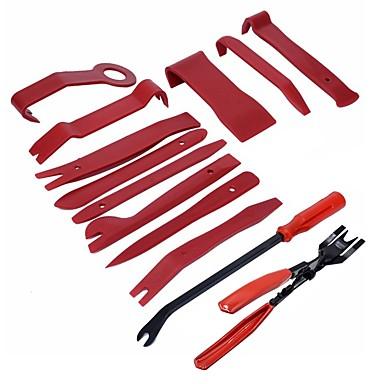 Недорогие Ремонтные инструменты-ziqiao 13 шт. инструмент для удаления отделки автомобильной панели двери аудио отделка для удаления обрезки инструментов авто зажим клещи крепеж для снятия подглядывать набор инструментов