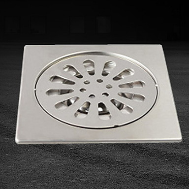 مصفاة تصميم جديد / كوول معاصر الفولاذ المقاوم للصدأ / الحديد 1PC تصرف تثبيت على الأرض