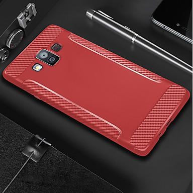 غطاء من أجل Samsung Galaxy S9 / S9 Plus / S8 Plus مثلج غطاء خلفي لون سادة ناعم TPU