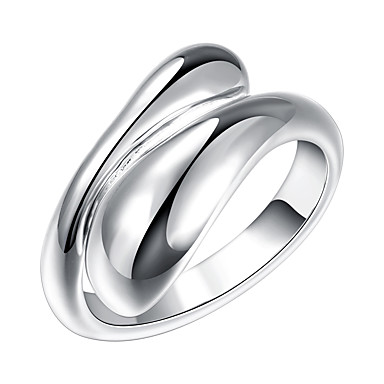 Pentru femei Band Ring inel de înfășurare degetul mare Argintiu Argilă Aliaj femei Neobijnuit Design Unic Petrecere Bijuterii Ajustabil