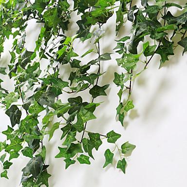 زهور اصطناعية 1 فرع كلاسيكي الحديث المعاصر النمط الرعوي نباتات أزهار الحائط