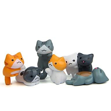 6PCS بلاستيك الحديث المعاصر / أسلوب بسيط إلى الديكورات المنزلية, هدايا / ديكورات المنزل الهدايا