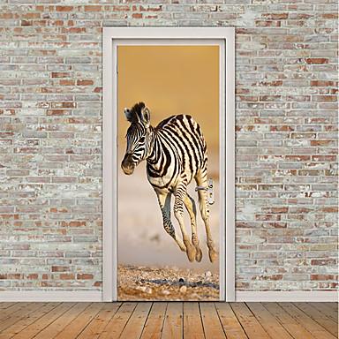fcd86ffcb70 Αυτοκόλλητα πόρτας - 3D Αυτοκόλλητα Τοίχου / Animal αυτοκόλλητα τοίχου Ζώα  / Σχήματα Παιδικό / Παιδικό Δωμάτιο 6895480 2019 – €23.51