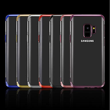 outlet store 3f06a cfa7e [$4.99] Case For Samsung Galaxy J7 Prime / J7 (2017) / J7 (2016) Plating /  Transparent Back Cover Solid Colored Soft TPU