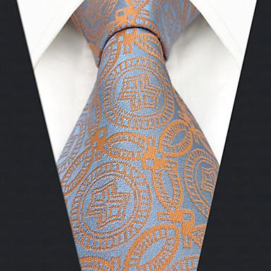 ربطة العنق هندسي / ألوان متناوبة / خملة الجاكوارد رجالي حفلة / عمل