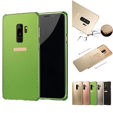 povoljno Maske/futrole za Galaxy S seriju-Θήκη Za Samsung Galaxy S9 / S9 Plus / S8 Plus Otporno na trešnju / Pozlata Stražnja maska Jednobojni Tvrdo Aluminij
