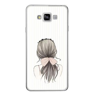 غطاء من أجل Samsung Galaxy A3 (2017) / A5 (2017) / A7 (2017) نموذج غطاء خلفي امرآة مثيرة ناعم TPU