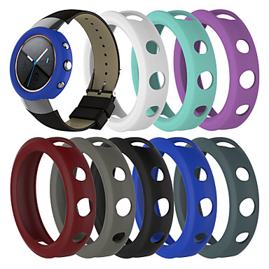 voordelige Smartwatch-accessoires-hoesje Voor Asus ASUS zenwatch 3 Siliconen Asus