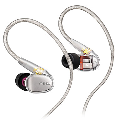 olcso Headsetek és fejhallgatók-MEIZU EP71 Vezetékes fülhallgató Kábel Mobiltelefon Mikrofonnal