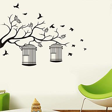 Ozdobné samolepky na zeď - Samolepky na stěnu Květinový / Botanický motiv Obývací pokoj / Ložnice / Koupelna